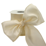 Ivory #40 Wired Ribbon