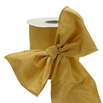 Soft Gold #40 Wired Ribbon